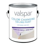 Shop Valspar Ultra Premium Gallon Container Interior Flat Ceiling Tintable White Latex