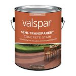 Shop Valspar Vaquero Brown Semi Transparent Concrete Stain Sealer