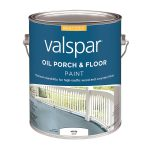 Shop Valspar White Gloss Interior Exterior Porch Floor Paint Actual