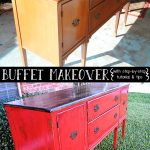 Should Mopping Floor Buffet Reveal Distressing Painted Furniture