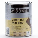 Sikkens Cetol Tsi Mat Plus Wood Stain Water Resistant Coat Clear