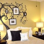 Simple Wall Painting Designs Bedroom Home