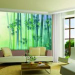 Simple Wall Painting Designs Living Room Green Colou Home
