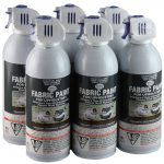 Simply Spray Upholstery Fabric Paint Pack Charcoal