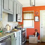 Small Kitchen Accent Wall Colors Design Ideas