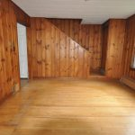 Sopo Cottage Dining Room Foyer Before After Knotty Pine