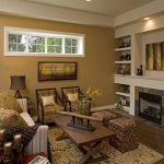 Spacious Open Floor Plan Using Stunning Room Color Ideas Wide Gorgeous Ceiling Lamp