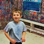 Splatter Paint Like Pollock Cats Burlington