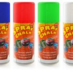 Spray Chalk Washable Art Supply Conscientious
