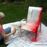 Spray Paint Chair Ideas Your Own Lawn