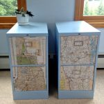 Spray Paint Metal Cabinet Filing