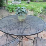 Spray Paint Patio Furniture Our Vintage Wrought Iron Set Lehman