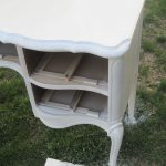 Spray Paint Wooden Furniture Finding Silver