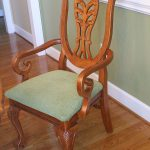Spray Painted Dining Table Chairs