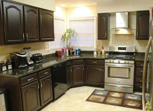 Spray Painting Kitchen Cabinet Give New Face