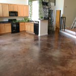 Stain Interior Concrete Floor Fixer Upper Ideas Renovating Our Potential