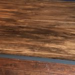 Stain Over Paint Creating Faux Wood Effect Painted Surface Monkeys