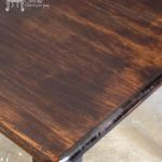Staining Over Chalk Painted Surfaces Vintage Charm