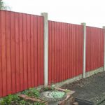 Staining Painting Fence Homes Gardens Diy