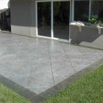 Stamped Concrete Patio Installation Don Traba