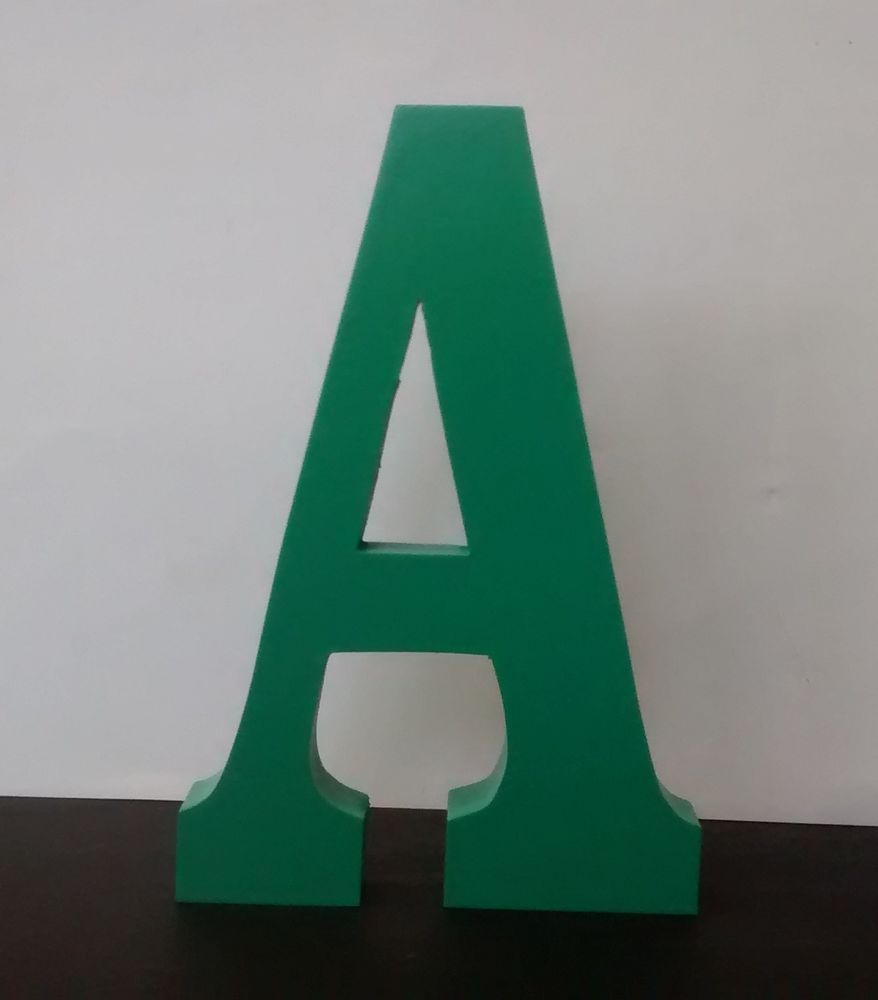 Standing Wooden Letters Large Painted Letter Numbers