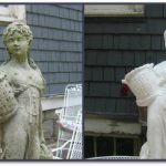 Statuary Makeover Transformed Statues