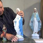 Statuary Restoration Reassembling Fixing Patching Painting Broken Statues