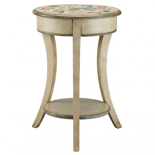 Stein World Painted Treasures Curved Legs Round Accent Table Reviews