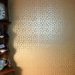 Stenciled Ceilings Metallic Paint Modern Masters Cafe