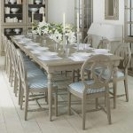Stola Extending Dining Table Painted Wood
