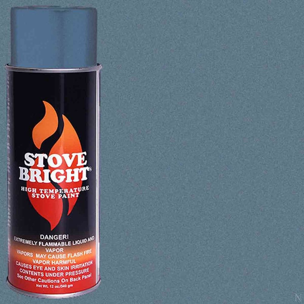 Stove Bright Fireplace High Temperature Spray Paint New Sky Blue