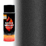 Stove Bright Metallic Black High Temp Aerosol Paint