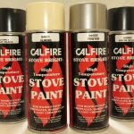 Stove Paint Calfire Bright Fire Various Colours Spray