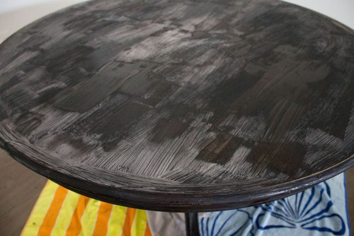 Strip Paint Off Wood French Style Dining Table Mon Petit
