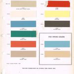 Studebaker Color Chip Paint Sample Brochure Chart Ppg Ditzler