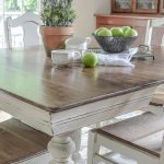 Stunning Diy Dining Table Makeovers Little Red