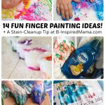 Super Fun Finger Painting Ideas Cleanup Trick Inspired