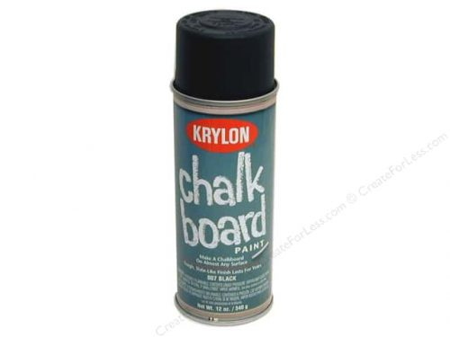 Superb Krylon Chalkboard Paint Chalk Board Black