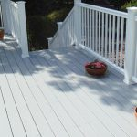Superb White Deck Paint Painted Wood