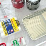 Supplies Paint Room