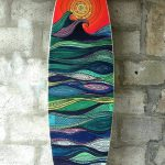 Surfboards Painting Sea Pristine Spray Surfboard Blank