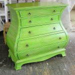 Sydney Barton Painted Furniture Green Chest