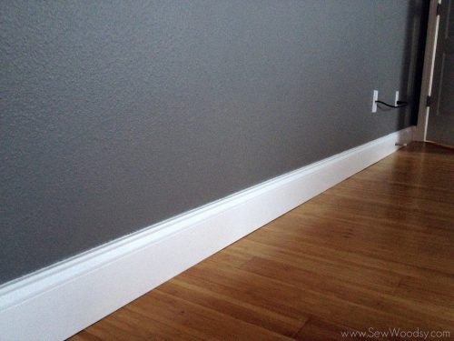 Tall Baseboards Crown Molding Tips Tricks Sew