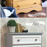 Tall Dresser Makeover Tutorial Trim Paint Fynes