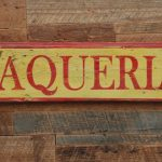 Taqueria Hand Painted Wooden
