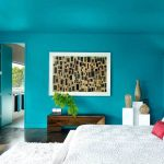 Teal Colored Bedroom Walls Koszi