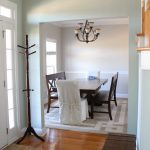Ten June Dining Room Paint Makeover Sherwin Williams Agreeable