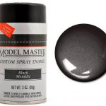 Testors Paint Model Master Automotive Enamel Black Metallic