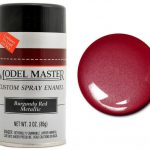 Testors Paint Model Master Automotive Enamel Burgundy Red Metallic