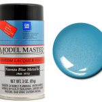 Testors Paint Model Master Automotive Lacquer Nassau Blue Metallic